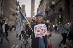 Bologna, ottobre 2020. Manifestazione per una rivoluzione ambientale
